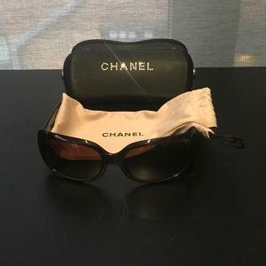 Authentic Chanel sunglasses. Near New Condition!